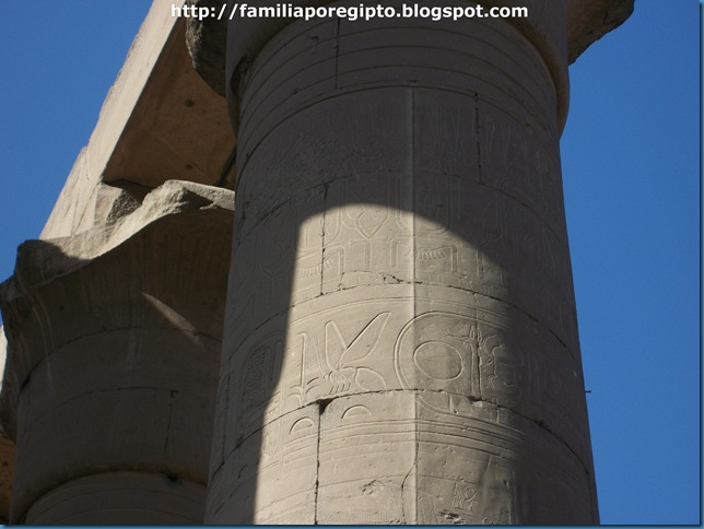 columnas luxor