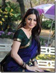 Shradha Arya – Telugu actress looking gorgeous in Saree…