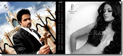 Riya Sen goes Topless for Daboo Ratnani's 2009 Calendar...