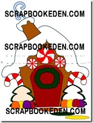 gingerbread house 2010-500
