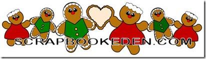 gingerbread border-500