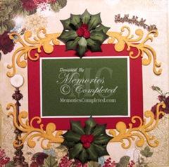 christmas holly and flourish-350