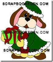 christmas bunny-200