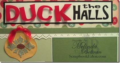 duck the halls title closeup