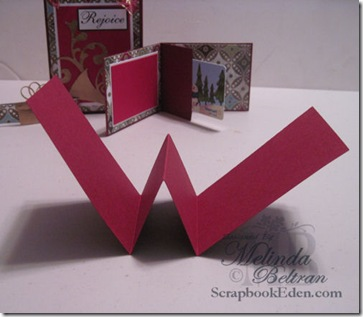 fold for card