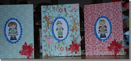 carolers cards
