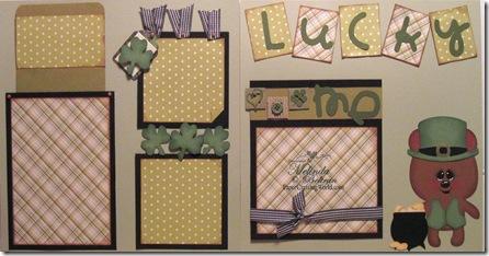 cricut lucky me layout