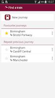 Screenshot of Train Tickets
