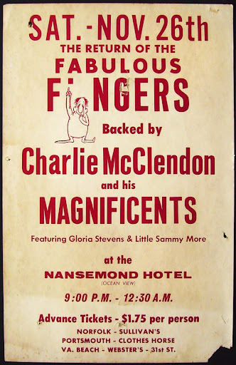 Charlie McClendon & the Magnificents poster