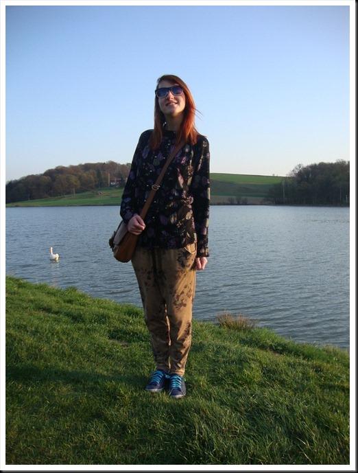 Vintage blouse; H&M bag; Zara harem pants; Graceland shoes (9)