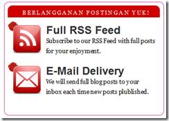 modifikasi formulir berlangganan posting