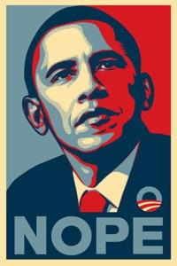 Obama nope