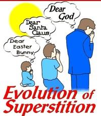 evolution of superstition