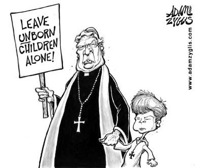 Catholic cartoon