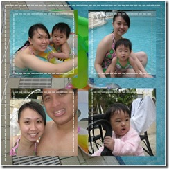 Swimming family