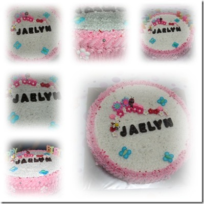 Birthday cake scape