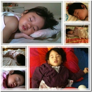 Sleeping Jaelyn