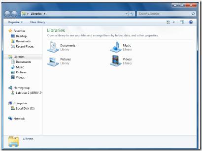 Windows Libraries
