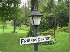 friends center sign