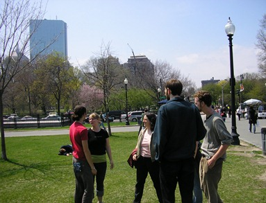 Sharing the Good News on Boston Common