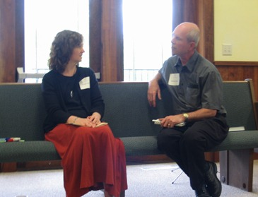 Jennie and Dorlan at Earlham School of Religion's 50th Anniversary Celebration in Wichita, KS