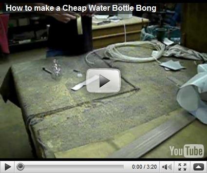 how to make water bottle bong. -Water Bottle. -Sharpie