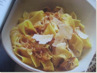 pasta&onions