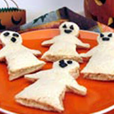 Tuna Spook Sandwiches (Halloween Lunch Box Surprise)