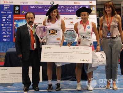 Vencedores Internacional Pádel Bilbao 2010