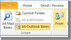 Outlook 2010 Search 3