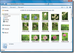 Import Images from a Digital Camera To Windows 7