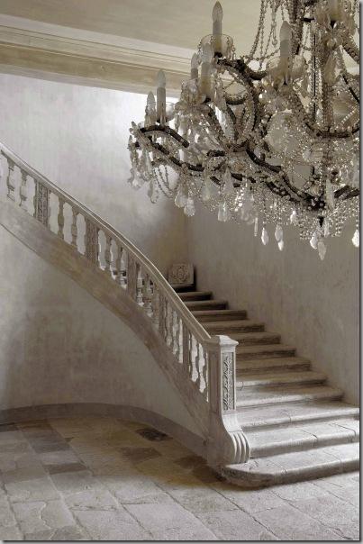 Château de Moissac-Bellevue Stairway