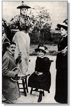 Proust avec les dames Cavaillet