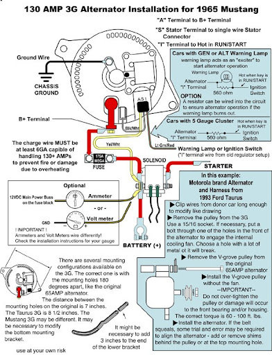 wiring diagram for motorcraft alternator wiring how to wire asi alternator ffcars com factory five racing on wiring diagram for motorcraft alternator