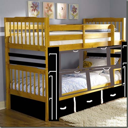bunk bed adapted 2