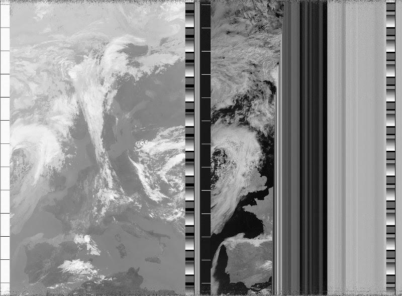 NOAA-17 APT image