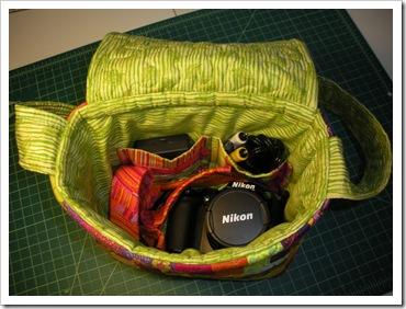 camera bag insdie