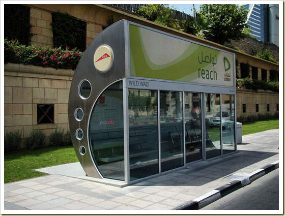 Bus Stops Around The World.