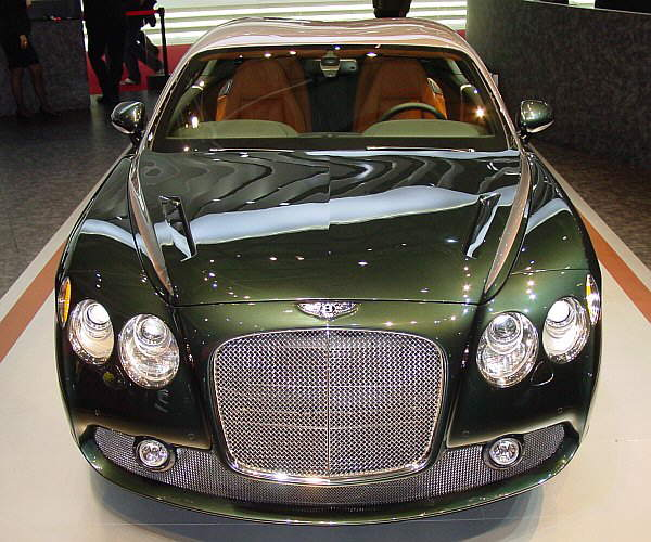 Bentley GTZ: Based On A Standard Bentley