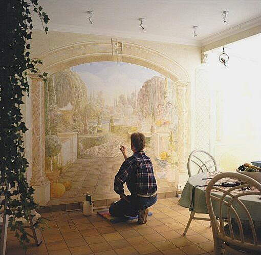 Extraordinary Paintings on walls