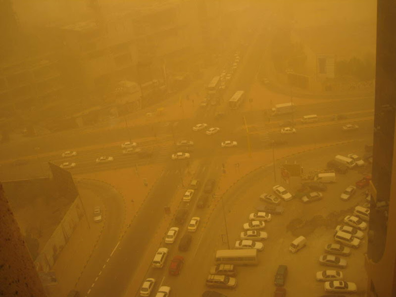 Sand Storm in KUWAIT - 11th February 2009