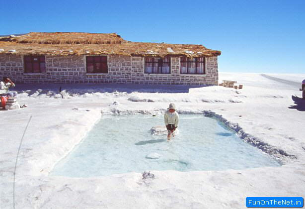 Salt Hotel in Bolivia Hotel de Sal Playa