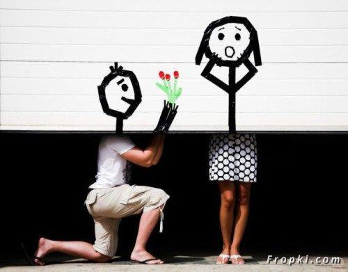 Really creative couple art