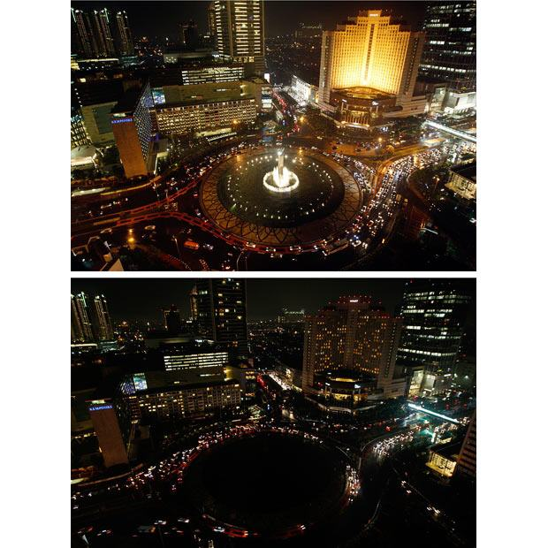 Earth Hour Photos from Around the World