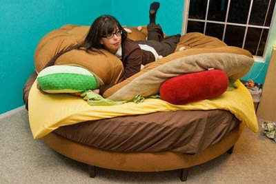 Burger Bed....................