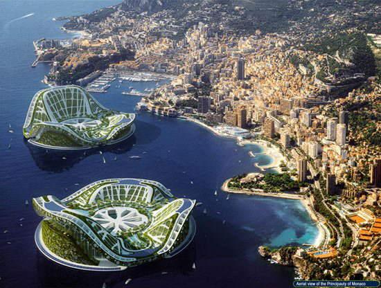DUBAI Lilypad Floating City