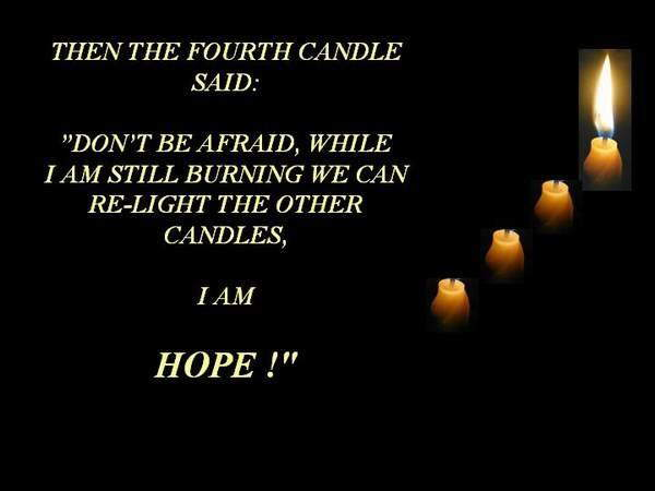 The Four Candles!