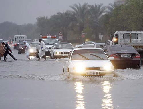 Traffic chaos in Dubai, Sharjah as Heavy Rain Lashes UAE