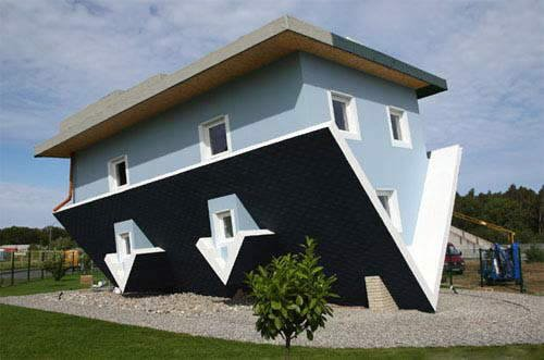 Upside Down House in Germany