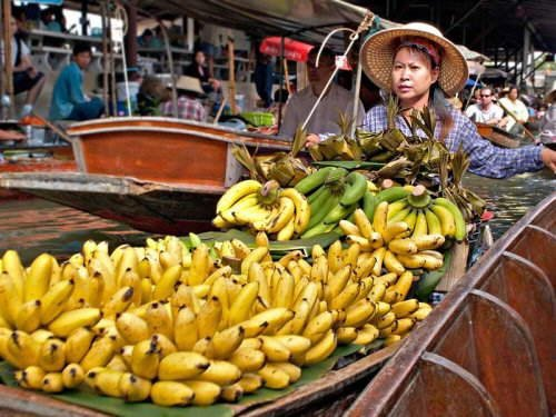 Have U Ever Seen A Floating Market? See It @ Thailand (AMAZING PICTURES + INFO)